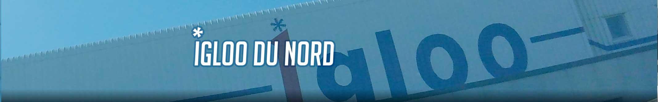 Igloo du Nord Entrepose en froid négatif des produits de la mer